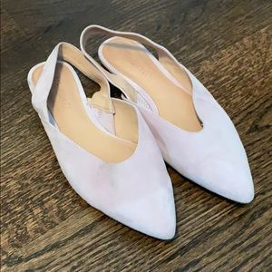 Madewell Lavender Slip-On Flats - 7